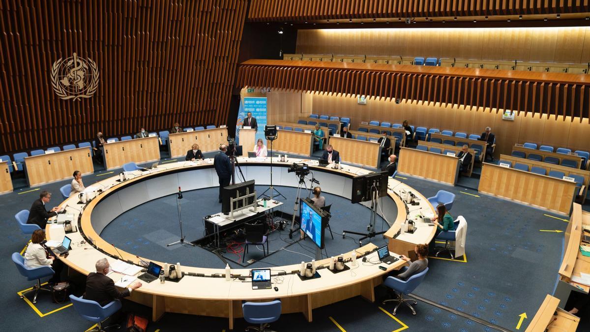 Asamblea anual de la OMS