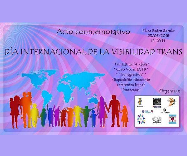 Cartel Día Internacional de la Visibilidad Trans 2018 Madrid