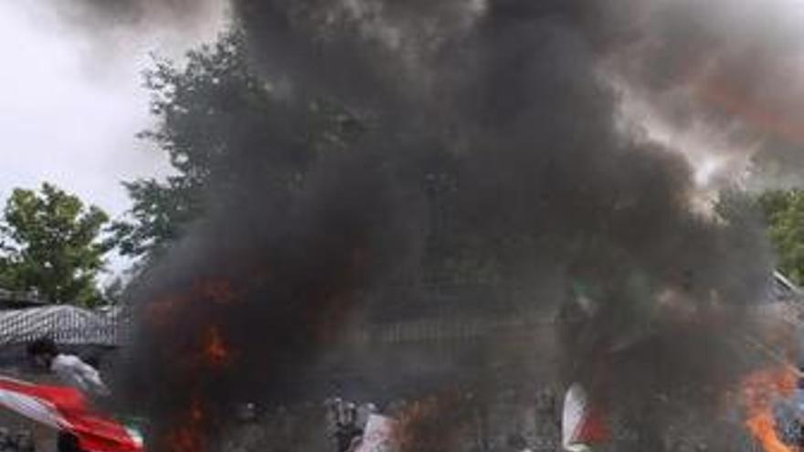 Disturbios en Irán. (EUROPA PRESS)
