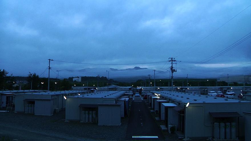 Casas prefabricadas para los evacuados de Fukushima