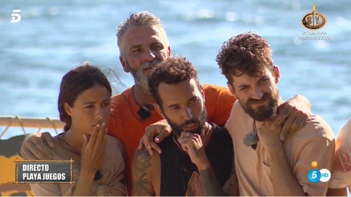 Melyssa, Carlos, Omar y Alejandro Albalá
