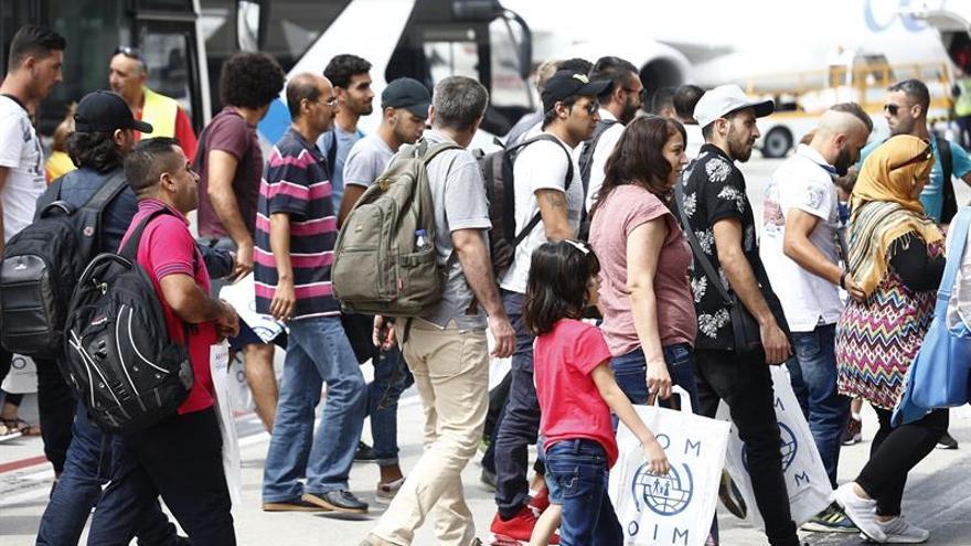 España ha acogido a 1.888 refugiados con la llegada hoy de nuevo grupo de 164