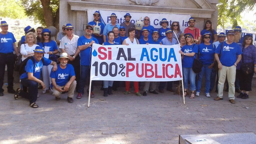 Plataforma contra la Privatización del Agua en Toledo