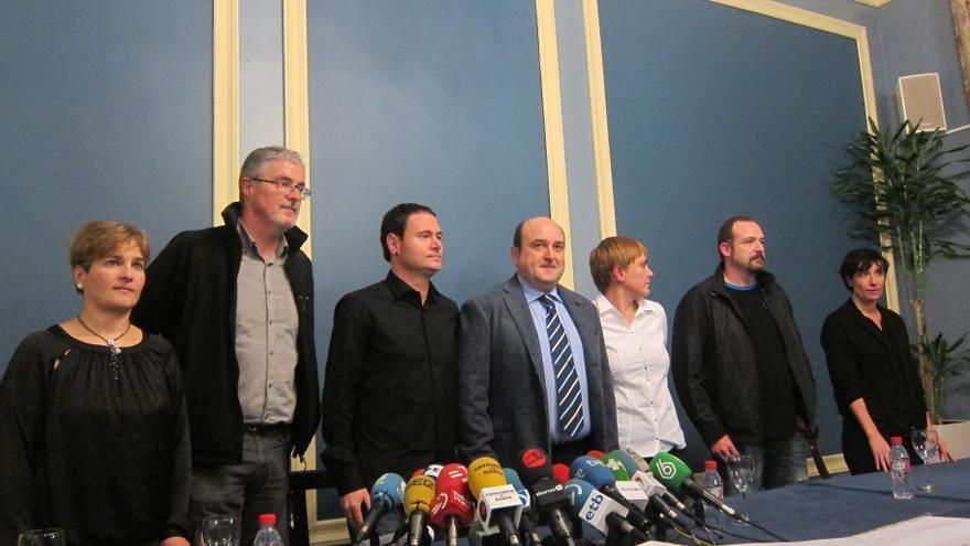 """PNV y Sortu llaman a la ciudadanía a una marcha para fortalecer el nuevo escenario ante """"medidas excepcionales"""""""