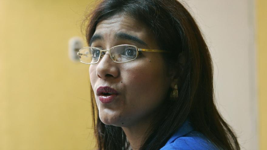 Zoilamérica Ortega en una imagen de 2006.