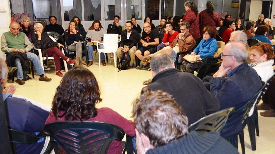 Tercer encuentro de colectivos sociales en Las Palmas de Gran Canaria. (Eva González).