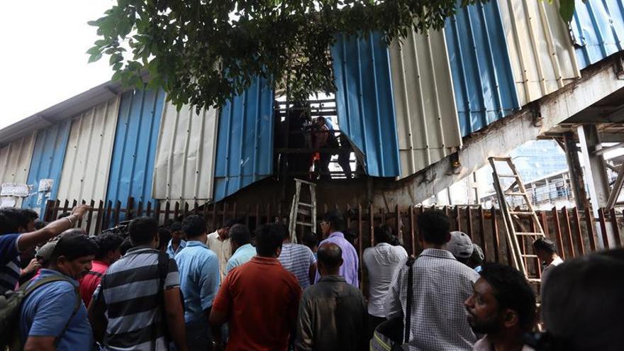 Al menos 22 muertos y alrededor de 25 heridos por una estampida en India