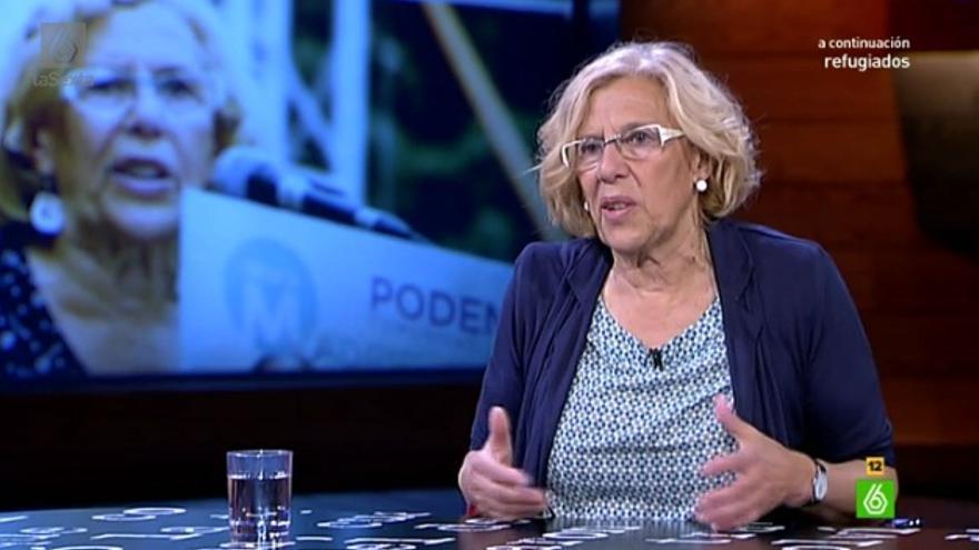Manuela Carmena, en El Intermedio