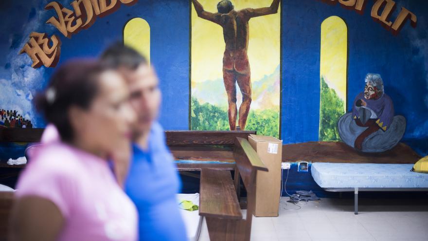 Hace unas semanas que Sofía -nombre ficticio-, su esposo Jesús y sus dos hijos pequeños, huyeron de la extorsión que sufrían en Colombia.