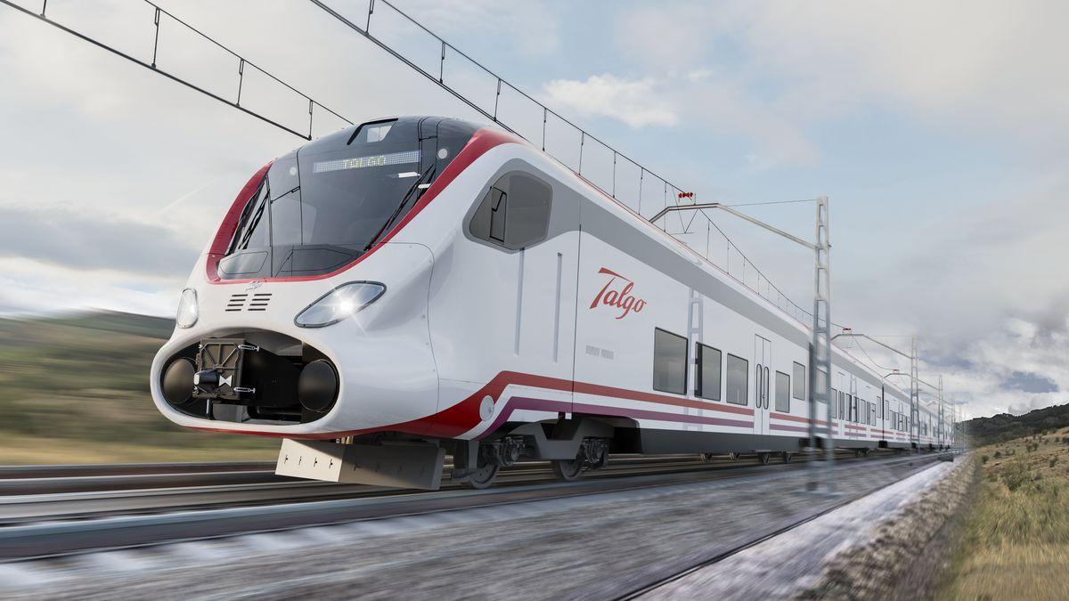 Talgo Vittal, nombre elegido para el prototipo que se probará en las vías extremeñas.