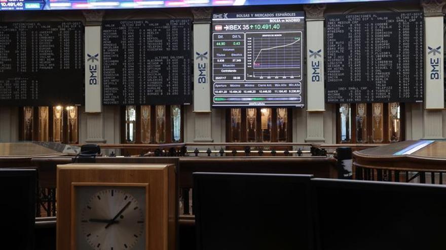 El IBEX 35 cede un 0,29 % tras la apertura y pierde los 10.600 puntos