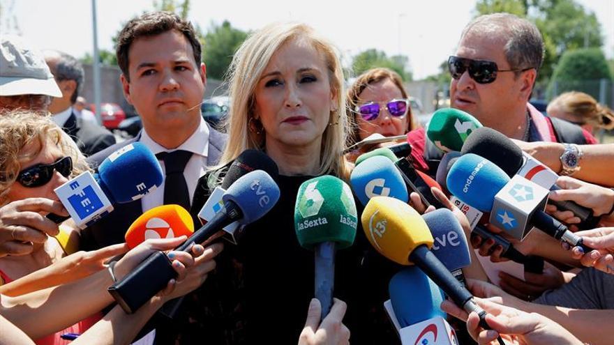 Cifuentes celebra que acabe el caso Gürtel y espera que la justicia actúe con rigor