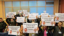 Suspendido de nuevo el pleno en Vigo por las protestas de las concesionarias