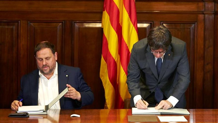Movimiento de izquierda catalán denuncian la condición antidemocrática del 1-O