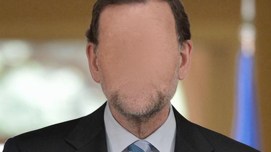 Rajoy dando la cara / Imagen: @arma_pollo