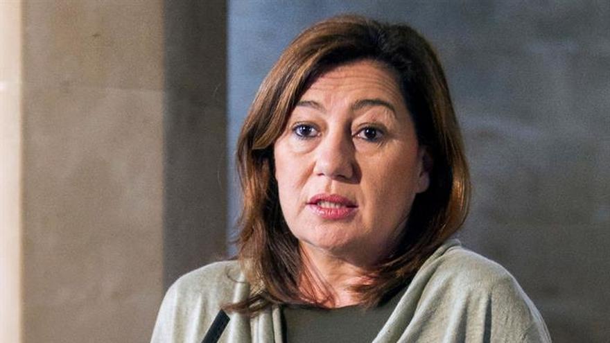 Armengol explica que su agenda institucional le impide estar en el Comité del PSOE