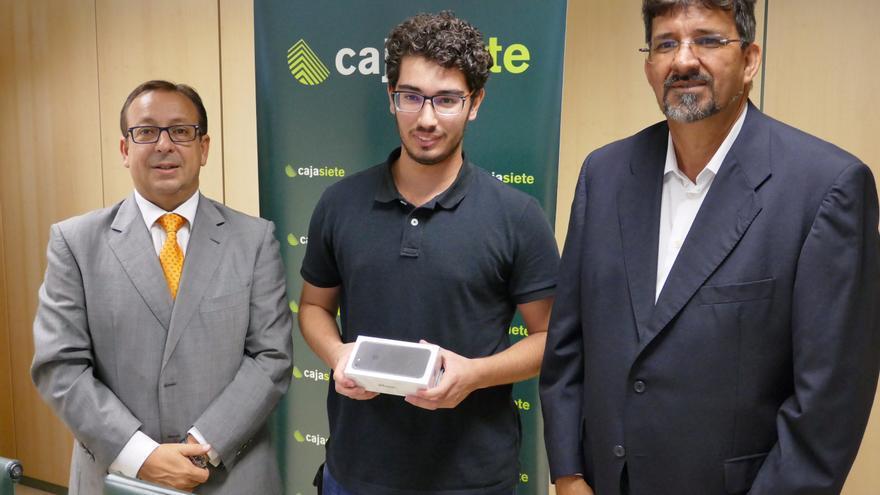 José Manuel Garrido (i), Sergio Delgado y Ángel Luis Castilla.