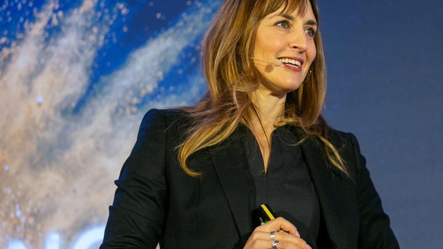 Eva Villaver, autora de 'Las mil caras de la Luna'