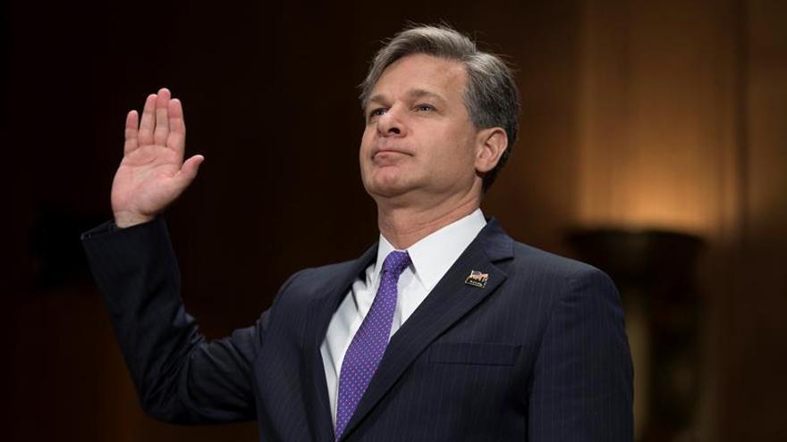 El próximo director del FBI promete independencia y colaboración con el caso ruso