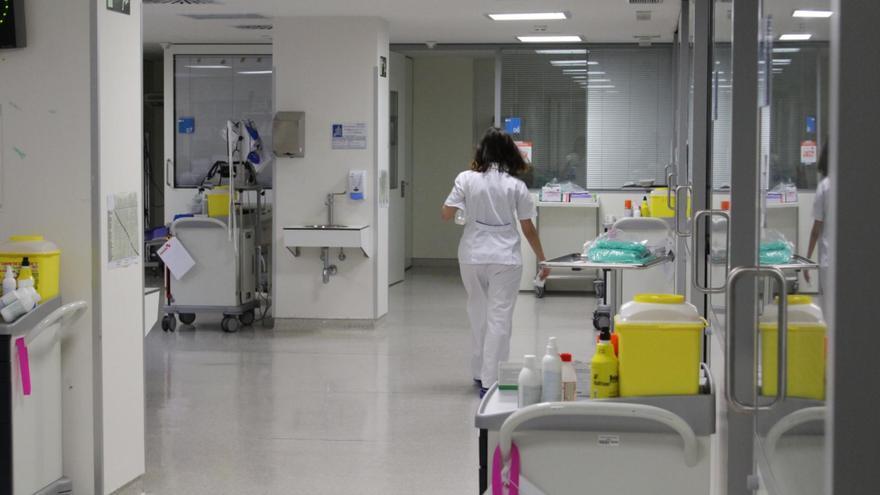 UCI del Hospital de Collado Villalba.