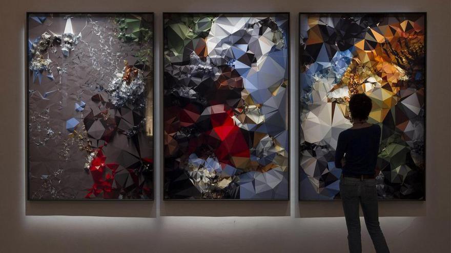 Quayola, Iconographies, en la galería neoyorquina Bitforms