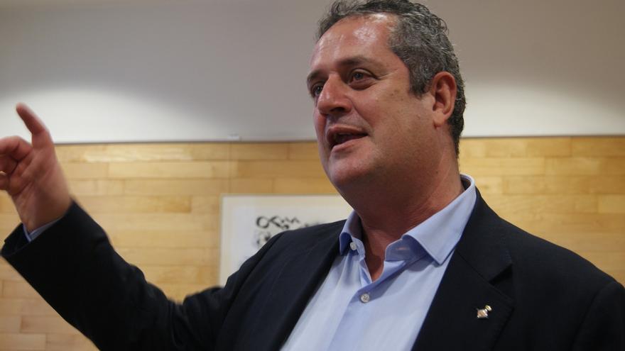 El primer tinent d'alcalde de Barcelona Joaquim Forn