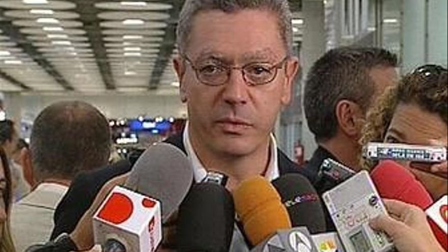 """Gallardón:""""La candidatura para 2020 será cosa de debate en 2011"""""""
