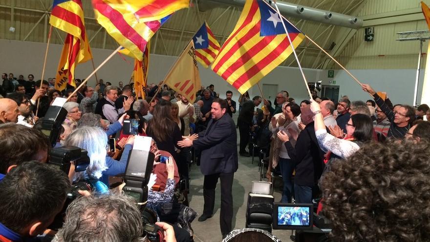 """Junqueras: ERC no negociará con el Estado ni se """"tragará el cuento"""" del referéndum"""