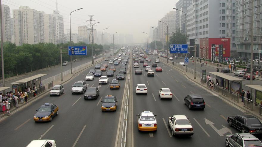 En Pekín, la concentración de partículas perjudiciales para la salud llegó a superar en 15 veces el límite recomendado por la OMS