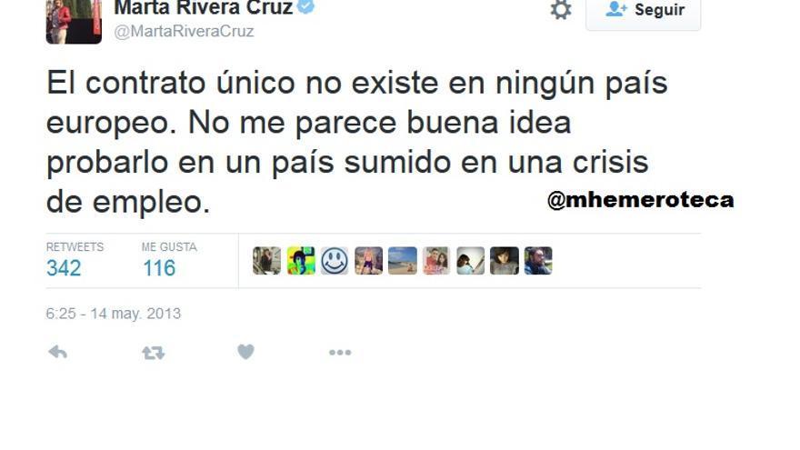 Marta Rivera de la Cruz Contrato único