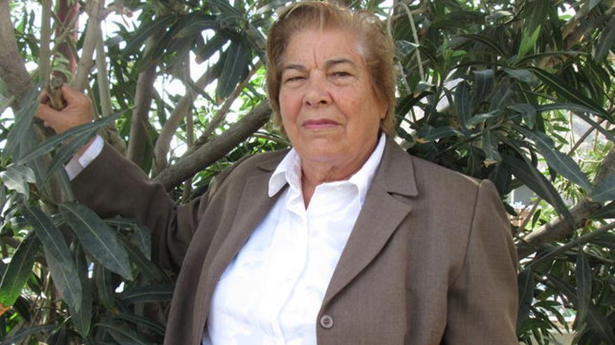 Nieves Clemente es un referente del repentismo palmero.