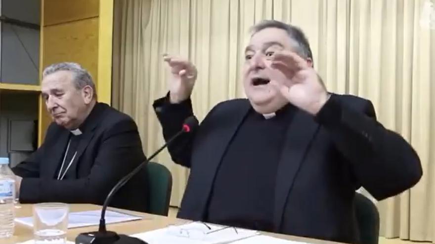 """""""Al marxismo le encanta atacar a la familia"""": el nuevo obispo de la Diócesis de Canarias arremete contra el feminismo en un vídeo de 2018"""