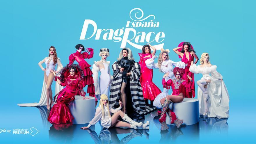 Foto grupal 'Drag Race España'