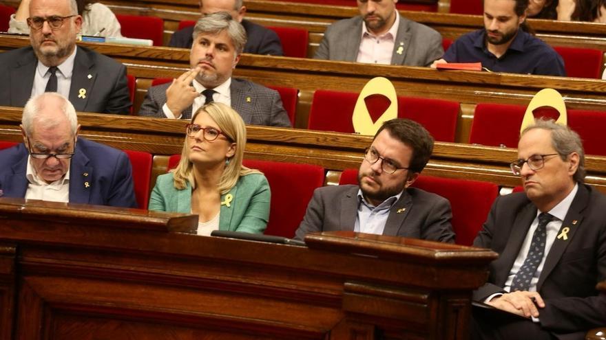 Torra y Aragonès se reunirán en el Palau de la Generalitat a las 10