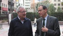 El exalcalde de Murcia, Miguel Ángel Cámara, junto al expresidente de la RegiónRamón Luis Valcárcel