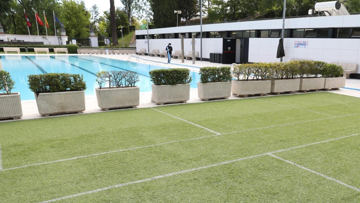 Piscina del Centro Deportivo Municipal de Casa de Campo