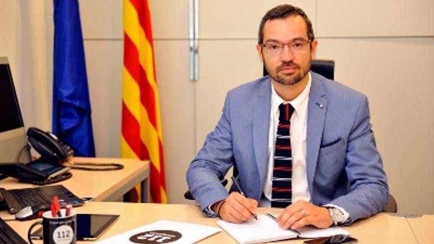 El exdirector del 112, Frederic Aran