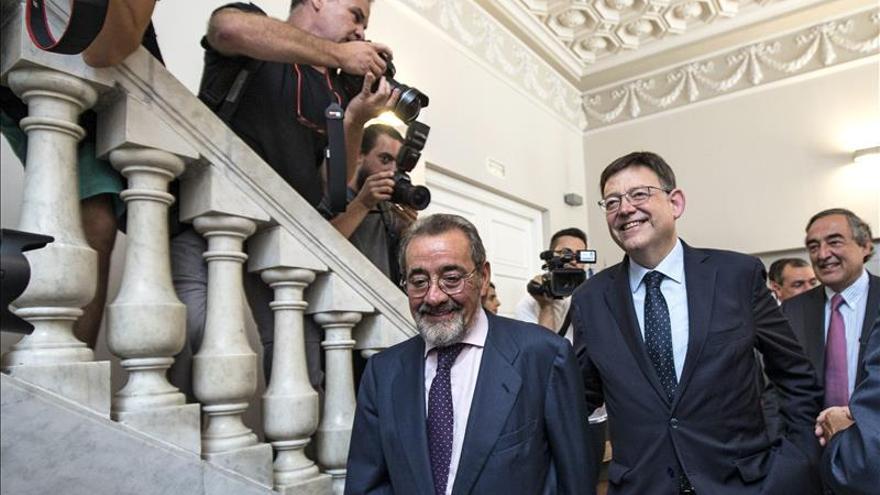 Puig (Valencia) dice que el Gobierno no puede seguir mirando hacia otro lado con balanza fiscal