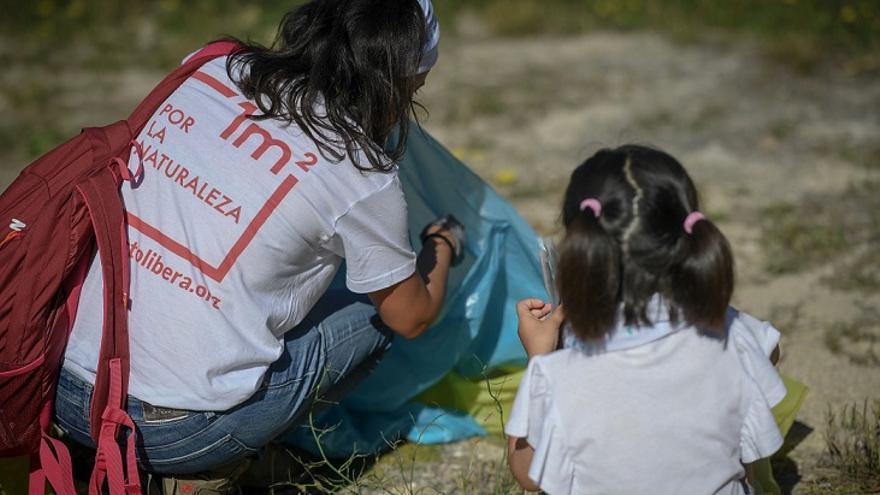 """Voluntarios de """"1m2 por la naturaleza"""""""