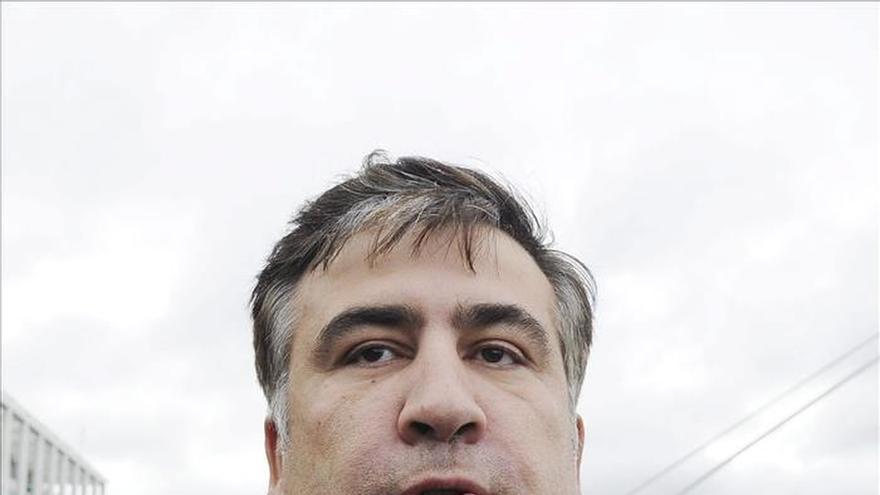 Georgia critica a Poroshenko por nombrar a Saakashvili gobernador de Odessa