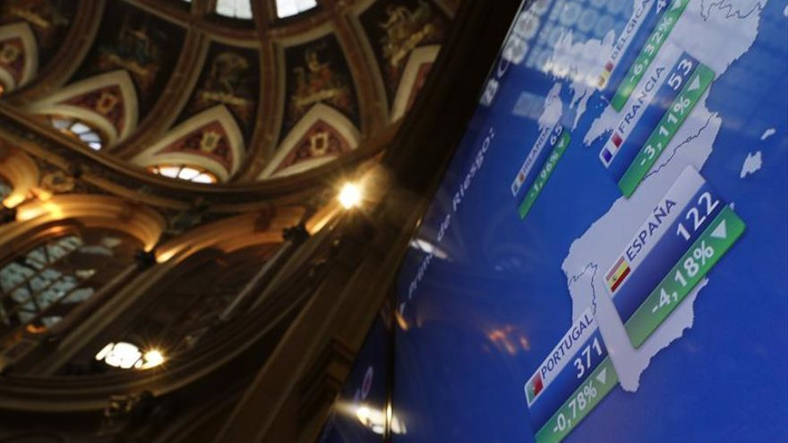 La prima de riesgo española abre sin cambios, en 109 puntos básicos