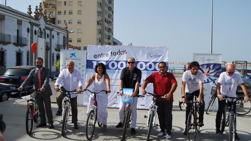 Diputación apoya la iniciativa solidaria '12 millones de pedaladas por las personas refugiadas'