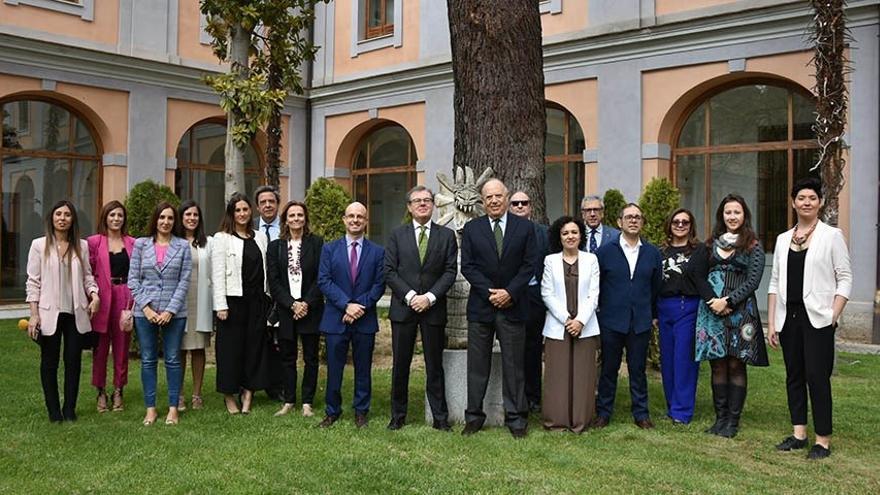 Miembros de la Academia de Cultura Gastronómica de Castilla-La Mancha