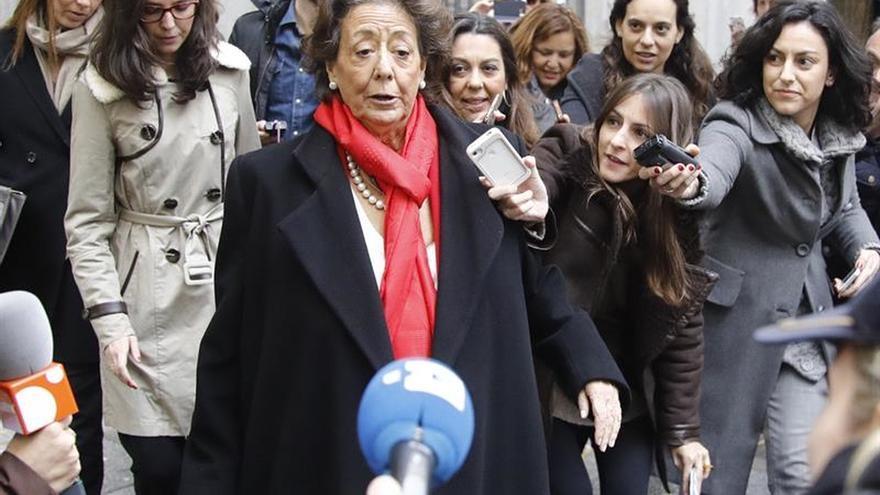El Summa confirma la muerte de Rita Barberá por un infarto