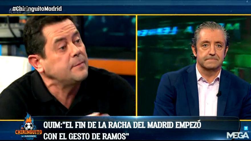 Roncero y Pedrerol debaten en 'El Chiringuito de Jugones'