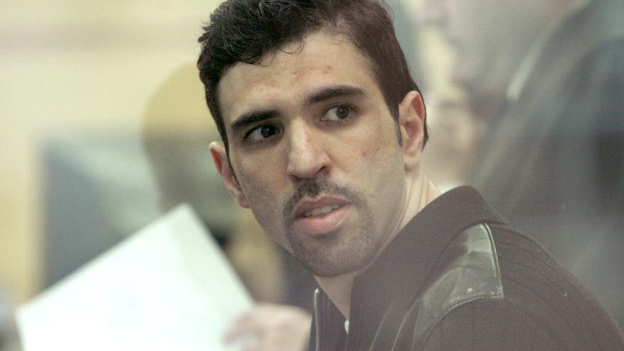 Jamal Zougam, el condenado por los atentados del 11-M durante el juicio en la Audiencia Nacional / GTres