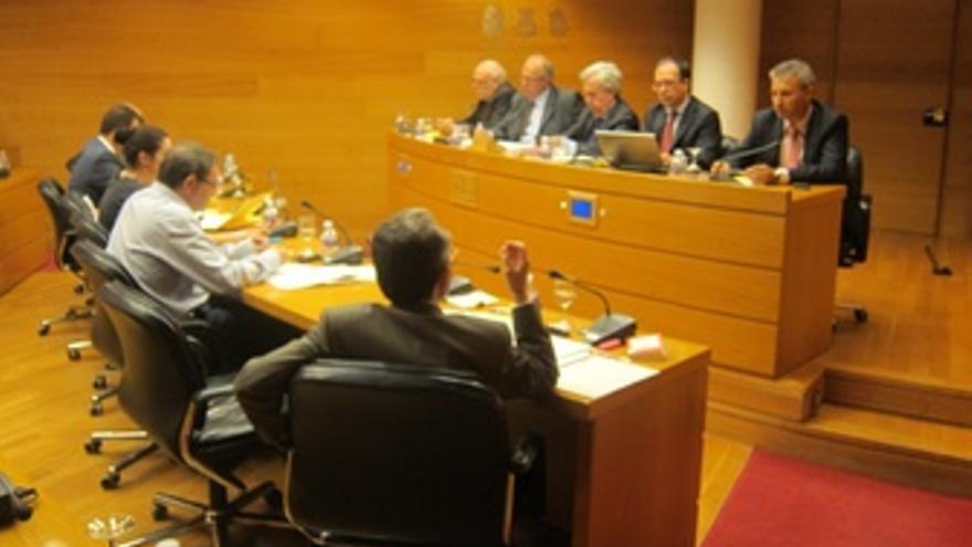 Comisión De La CAM En Las Corts