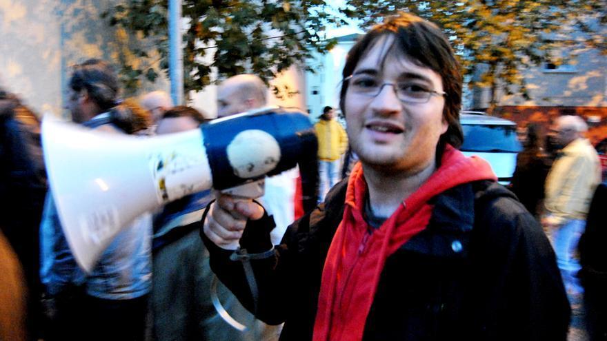 """Rafa González anima al resto de jóvenes a salir a las calles en defensa de la """"dignidad"""""""
