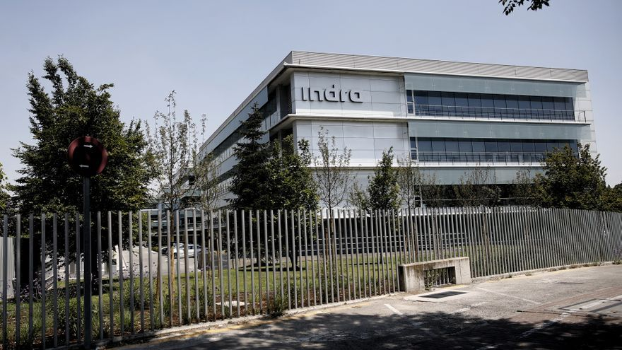 Sede de Indra en Alcobendas (Madrid)