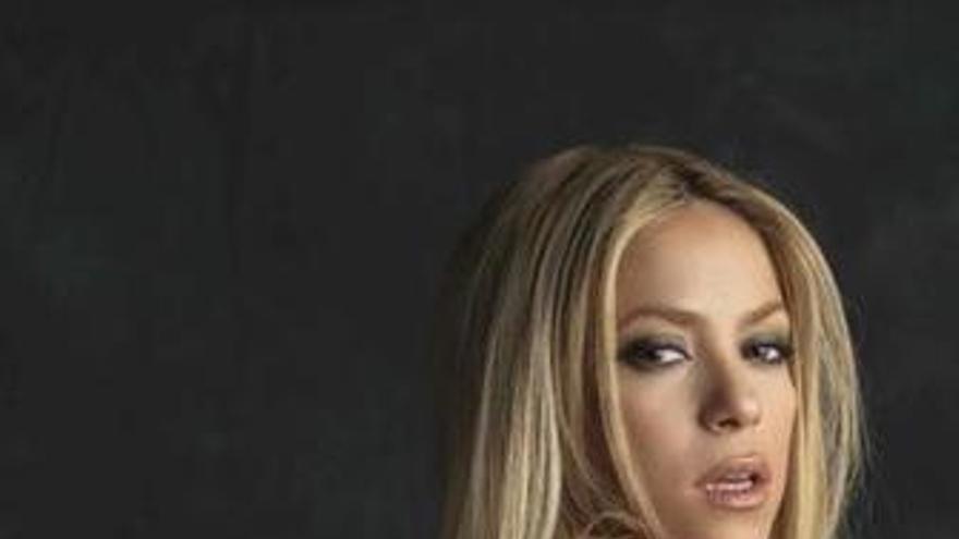 Shakira foto oficial álbum 'She Wolf'